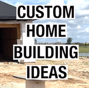 5 CUSTOM HOME BUILDING IDEAS | PARTNERS IN BUILDING PART 3